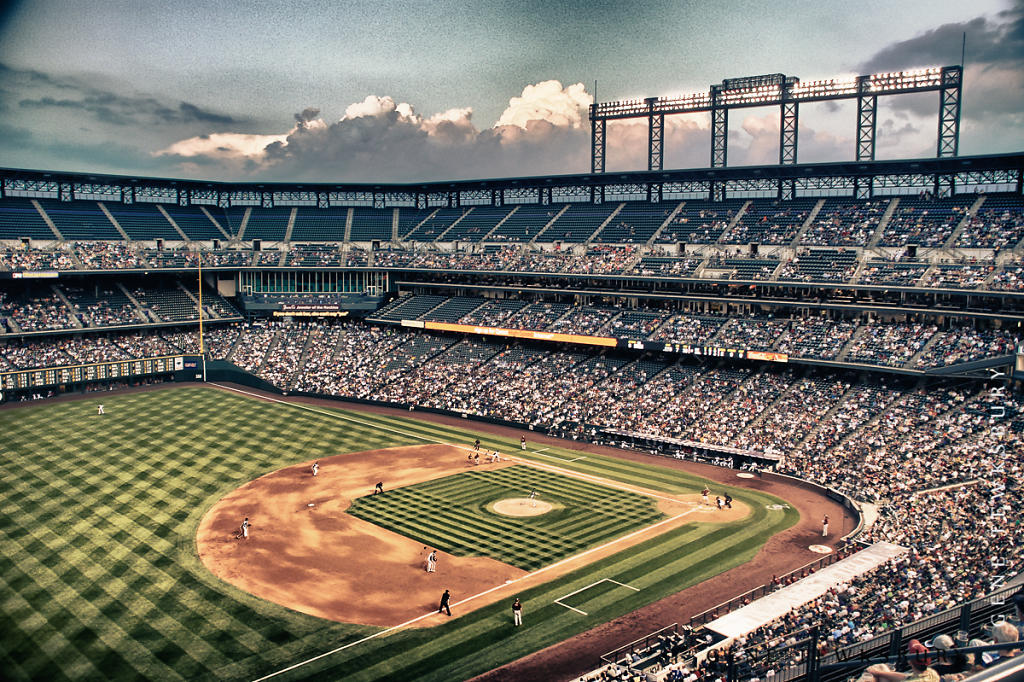 Coors Field Game Day