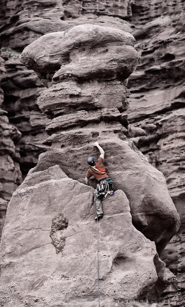 Fisher Towers Climber