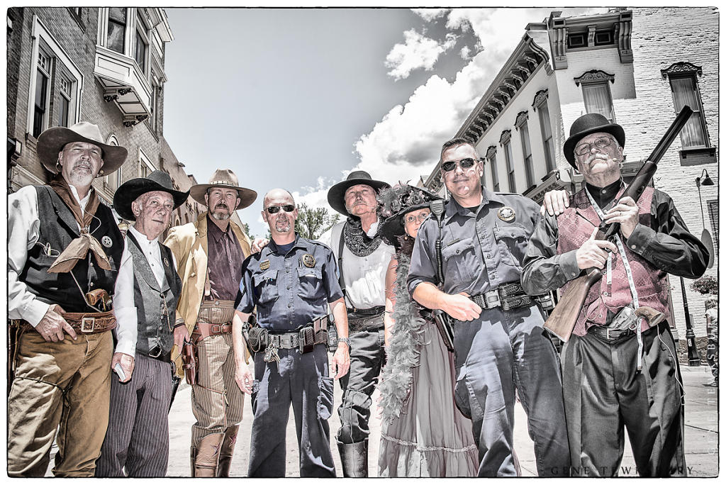 Old West Pose